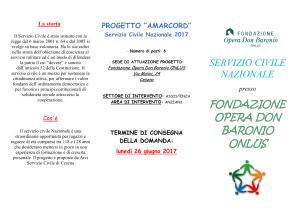 Volantino Servizio Civile 20171