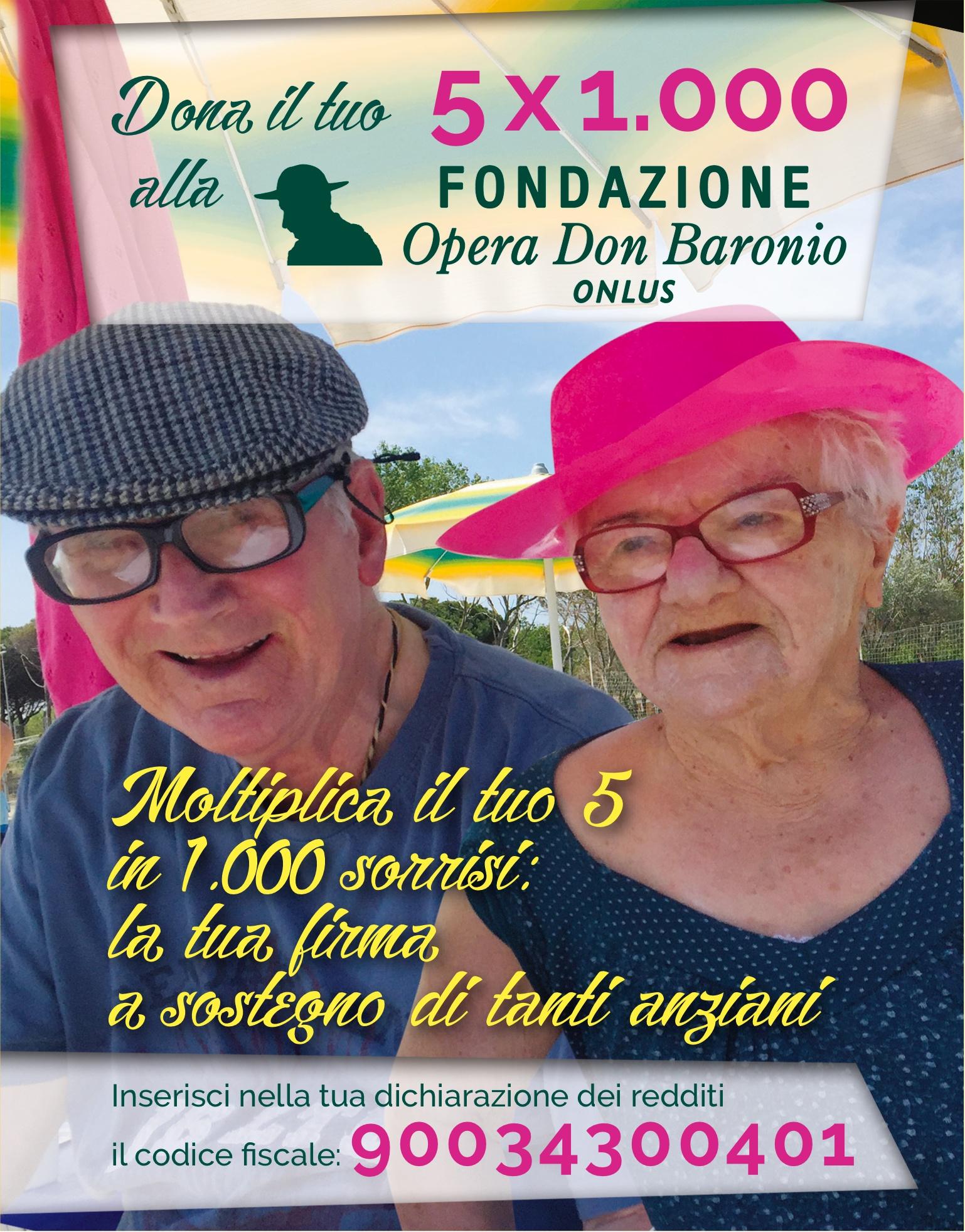 Dona Il Tuo 5*1000 Agli Ospiti Della Casa!!!
